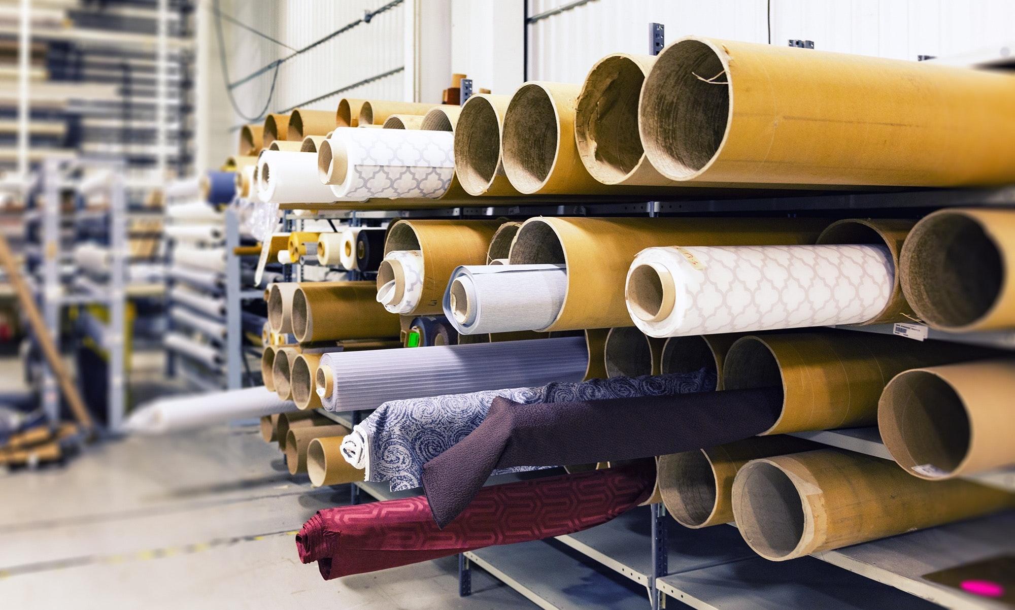 Inreda med textilier